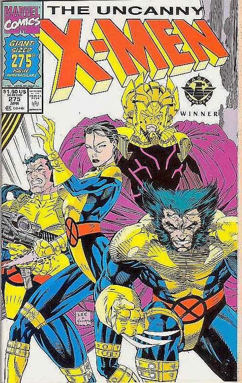 X-Men #275 (Apr-91) NM- High-Grade X-Men