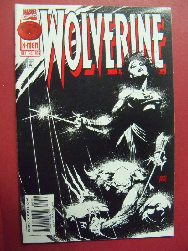 WOLVERINE #106 (9.0 to 9.4 or better) 1988 Series MARVEL COMICS