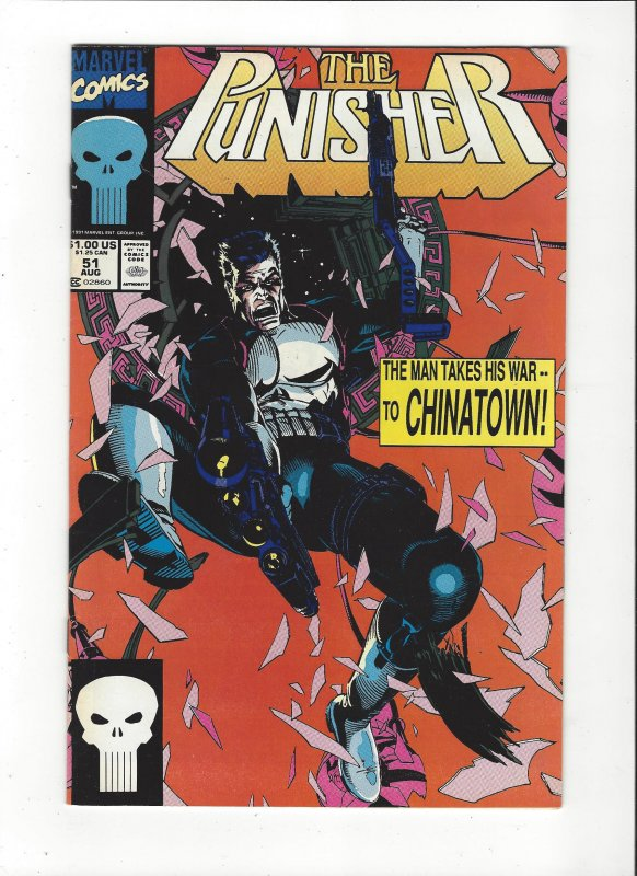 The Punisher #51 (1987)  War On Chinatown Marvel Comics NM
