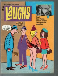 Army Laughs 9/1977-Engleman cover art-full size issue-cheesecake pix-FN