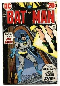 BATMAN #246-1973-Robin Hanging cover-DC comic book