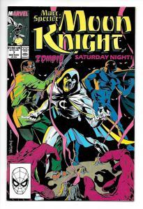 Marc Spector Moon Knight #7 (Marvel, 1989) NM-