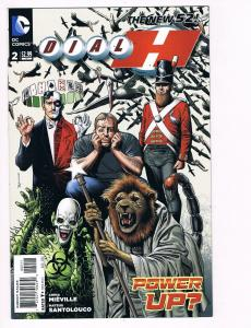 Dial H # 2 DC Comic Books Hi-Res Scans The New 52 Awesome Issue WOW!!!!!!!!! S12