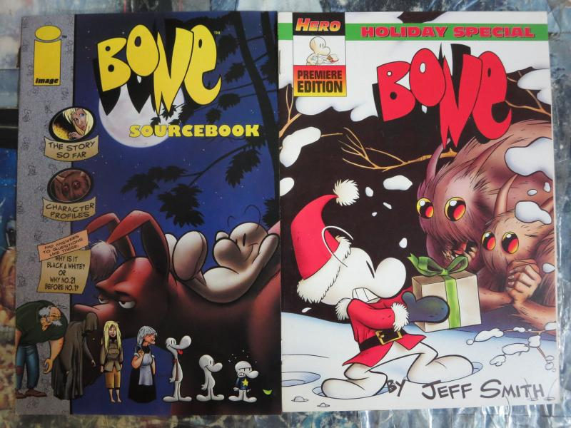 Bone Sourcebook and Holiday Special Jump in the World of Jeff Smith's Classic!