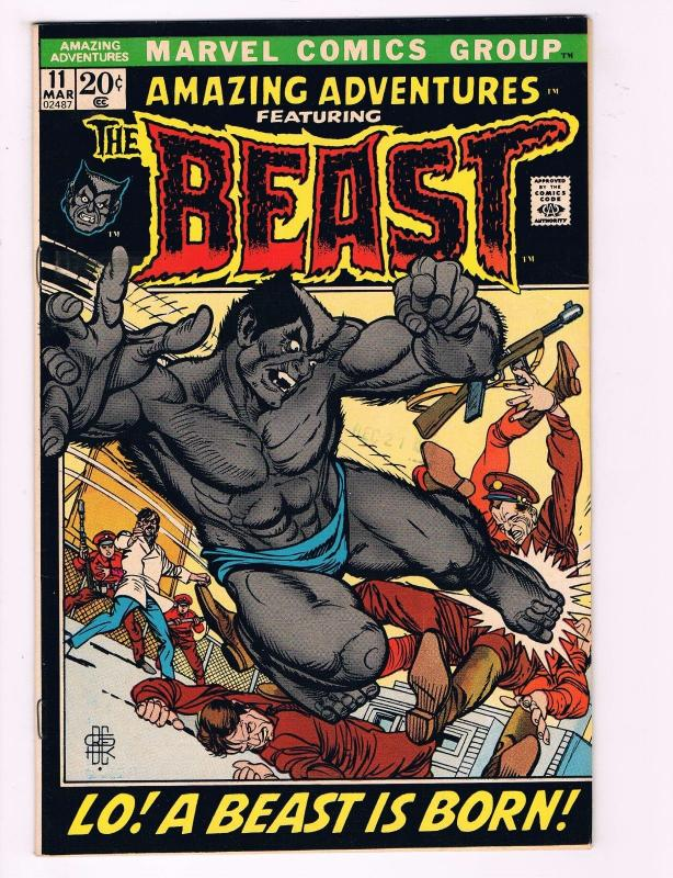 Amazing Adventures # 11 NM 1st Appearance Of Furry Beast (Blue) X-Men Marvel AD1