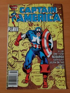 Captain America #319 Newsstand Edition ~ VF - NEAR MINT NM ~ 1986 Marvel Comics