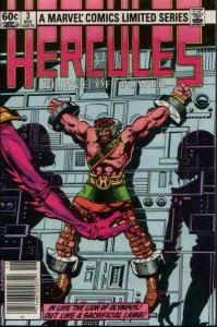 Hercules (Vol. 1) #3 (Newsstand) VG; Marvel | low grade comic - save on shipping