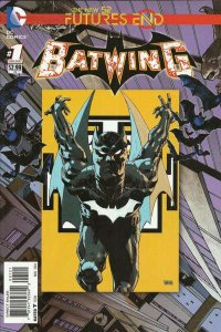 Batwing: Futures End #1, NM + (Stock photo)