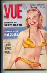 Vue 12/1952-cheesecake-lonely hearts racket-showgirls,-pin-ups-Exploitation-s...