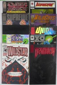 IMAGE/VALIANT ENHANCED COVER SET! 10 BOOKS FROM 1993!