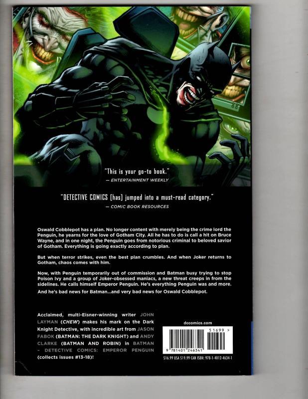 Batman Detective Comics Vol. # 3 Emperor Penguin DC Comics Graphic Novel J304