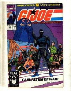 12 Comics GIJoe 109 110 Warriors 1 Silver Surfer 75 76 77 78 79 F4 352 378 + JK6