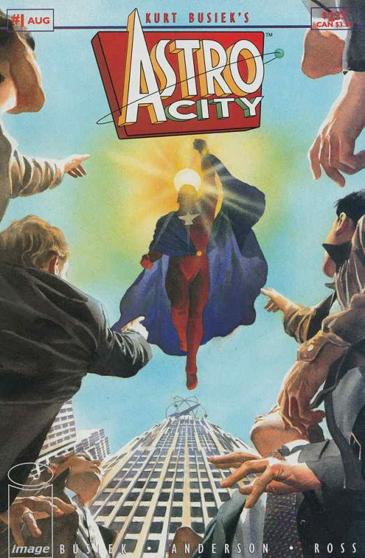 Astro City (Kurt Busiek's…, Vol. 1) #1 VF/NM; Image | save on shipping - details