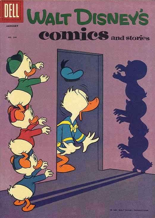 Walt Disney's Comics and Stories #244 FN; Dell | save on shipping - details insi