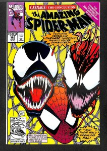 Amazing Spider-Man #363 VF- 7.5 3rd Carnage! Marvel Comics Spiderman