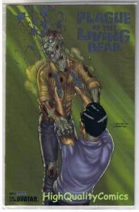 PLAGUE of the LIVING DEAD #5, NM+, Zombies, LIMITED, 2007, more Horror in store