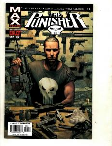 12 The Punisher Max Comics # 1 2 3 4 5 6 7 8 9 10 11 12 RP2