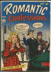 Romantic Confessions #1 1949-Hillman-1st issue-Al Mc Williams art-VG