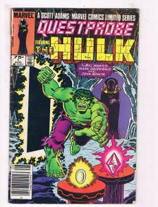 Questprobe Feat. The Hulk #1 GD Marvel Comic Book DE4