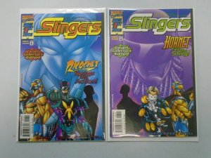 Slingers #1A+B Variant Issue Direct Edition 8.5 VF+ (1998)