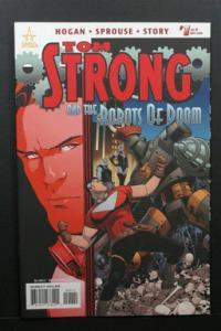 Tom Strong and the Robots of Doom #1 August 2010