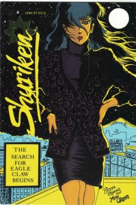 SHURIKEN #3, VF+, Victory Comics, 1986  more Indies in store