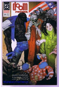 DOOM PATROL #33, NM+, Grant Morrison, Simon Bisley, 1987, more in store