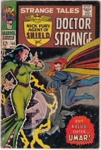 Strange Tales #150 (Nov-66) VG Affordable-Grade Nick Fury, Dr. Strange