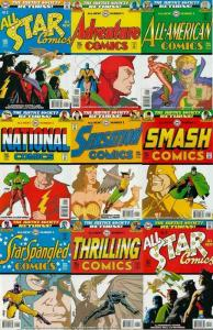 JUSTICE SOCIETY RETURNS (1999) 9 Part Xover  COMPLETE!