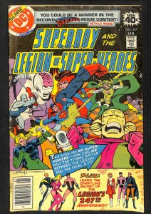 Superboy and the Legion of Super-Heroes #247
