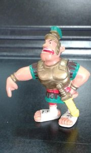 Muñeco de goma: Centurion romano de la serie Asterix y Obelix