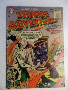 STRANGE ADVENTURES # 62 DC SILVER SCI-FI HORROR ACTION ADVENTURE
