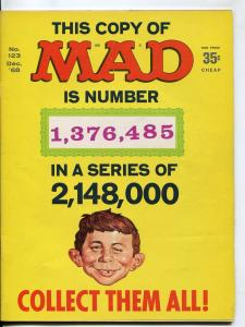 Mad-Magazine-#123-Dec-1968-Mort Drucker-Don Martin-David Berg