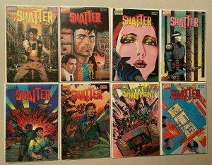 Alien Legion run from:#1-10 2nd Series 8 different books 8.0 VF (1987-89)