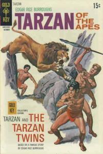 Tarzan (Gold Key) #196 FN; Gold Key | save on shipping - details inside