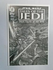 Star Wars Tales Jedi Dark Lords of the Sith #1 Ashcan 6.0 FN (1994)