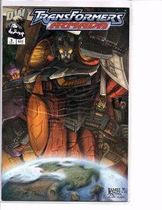 Dreamwave Comics Transformers Armada #3