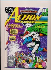 DC Action Comics #596 & #597 SUPERMAN FINE/VERY FINE Set of 2  (SRU137)