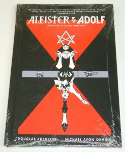 Aleister Crowley & Adolf Hitler HC VF/NM sealed hardcover  Rushkoff/Oeming