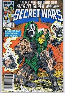 Secret Wars #10 ORIGINAL Vintage 1985 Marvel Comic Book Dr Doom