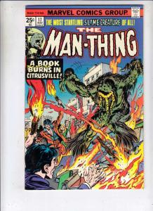 Man-Thing #17 (Jun-75) NM- High-Grade Man-Thing