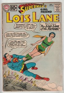 Lois Lane, Superman's Girlfriend  #28 (Oct-61) VG+ Affordable-Grade Superman,...
