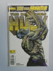 Incredible Hulk #33 NM (2001 2nd Series)