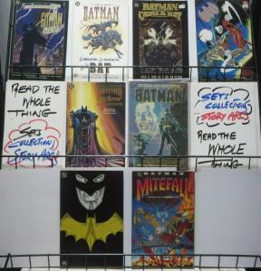 BATMAN PRESTIGE ONE-SHOT LOT! 8 books, Gotham by Gaslight, Mignola, Alan Davis