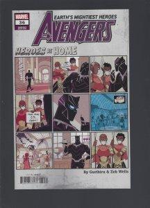Avengers #36 Variant (2020)