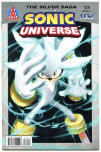 SONIC UNIVERSE #25 2011- Archie Comics- Sega  VF/NM
