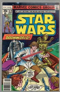 STAR WARS 12 VG-F June 1978