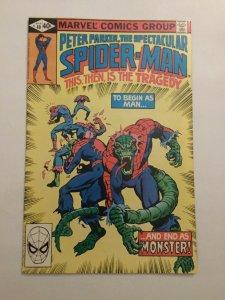 Spectacular Spider-Man 40 Nm Near Mint Marvel