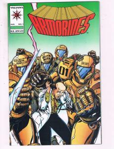 Lot Of 7 Armorines Valiant Comic Books # 1 2 3 4 5 6 7 Modern Age Series J25