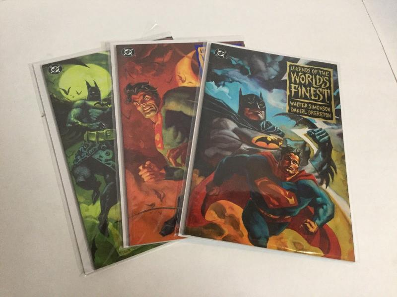 Legends Of The Worlds Finest 1-3 Lot Set Run Nm Near Mint DC Comics A42